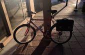 Una alforja bicicleta retro