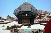 Habitación Faro iluminado de Minecraft