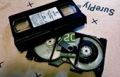 VHS cinta secreto compartimento