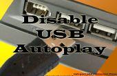 Desactivar la reproducción automática de USB y unidad de CD en Windows XP