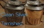 Cómo limpiar plata deslustrada