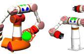 El sueño... un Robot Industrial Hobby casa doble brazo...