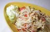 """Ensalada picante de Papaya tailandesa - aka """"Som Tam"""""""