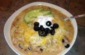 Simple de Souper, Souper delicioso lento cocina Enchilada sopa (que realmente es una comida de una olla).