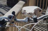 Cubierta de asiento de bicicleta fácil y rápida