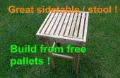 CONSTRUIR una mesa auxiliar / taburete