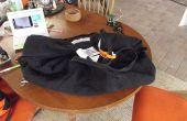 Convertir una bolsa de echelon en alforjas de bicicleta
