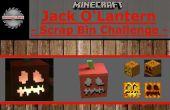 Minecraft Jack O'Lantern con luz L.E.D