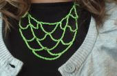 Hacer un collar de cuentas nivel de verde