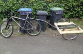 Remolque de bici fácil construir