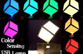 USB lámpara de camaleón (replicación de Color)