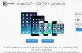 Easy One-click Jailbreak iOS 7