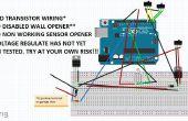 Abridor de puerta de garaje de Arduino DIY-huella digital