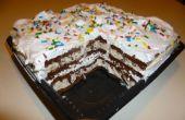 Super sencillo pastel de helado