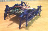 Impreso de 3D Robot caminando (acoplamiento de Klann)
