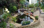 Cómo hacer un estanque de jardín