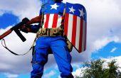 La segunda guerra mundial Capitán América