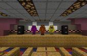 Escaparate: Pizza réplica de Freddy Fazbear en Minecraft