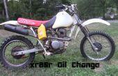Cambio de aceite moto
