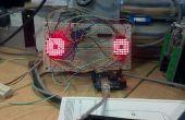Ojos locos de la matriz de Arduino 8 x 8