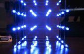 Cubo del LED 4 x 4 x 4