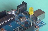 Arduino código Morse Flaher