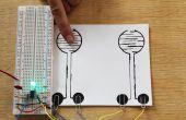 Hacer un circuito de encendido/apagado sensible toque con pintura pelada y un temporizador 555 IC