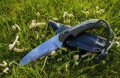 Hacer un cuchillo bushcraft para canoa