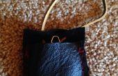Bolsa de brújula de cuero