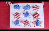 Bandera americana Tic Tac Toe