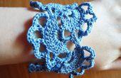 Pulsera Crochet flores