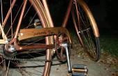 Bicicleta estilo Steampunk de luz