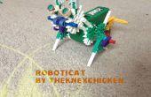 K'NEX Walkerbot: Roboticat (gato robótico) instrucciones
