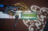 Medir la temperatura y mostrar en una pantalla LCD de