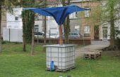 COLECTOR de agua de lluvia independiente