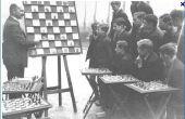 Tabla de entrenamiento de ajedrez del pobre.