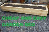 Cama de jardín hecho fácil