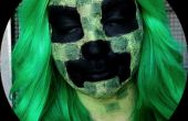 Maquillaje de Minecraft Creeper