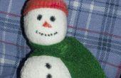 Adorable muñeco de nieve adornos