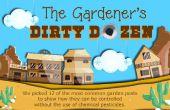 Cómo tratar orgánicamente con 12 plagas comunes de jardín sin pesticidas químicos