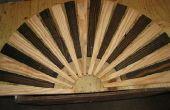 Felpudo madera fácil