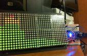 Arduino / procesamiento de analizador de espectro Audio