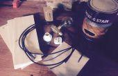 Lámpara punk de vapor en 3040 CNC
