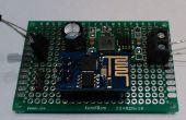 Registrador de datos de temperatura (DS18B20) de bajo costo WIFI basado en ESP8266 con conectividad a thingspeak.com