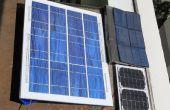 Barato, panel solar a prueba de salpicaduras para la diversión de construcción