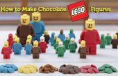 Figuras de Lego de chocolate