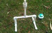 Lanzador del cohete de la botella de agua impresionante
