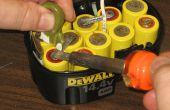 Cómo reconstruir un grupo de baterías Dewalt 14.4v