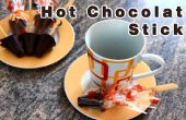 Cómo hacer palitos Chocolate caliente casero