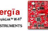 Junta de CC3200 Wi-Fi para Internet de las cosas